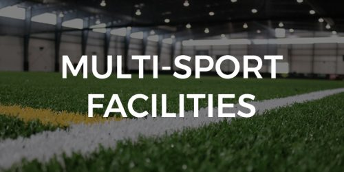 turf and hardwood sports facility